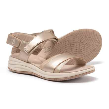 Easy Spirit Draco 3 Wedge Sandals (For Women) in Gold - Closeouts