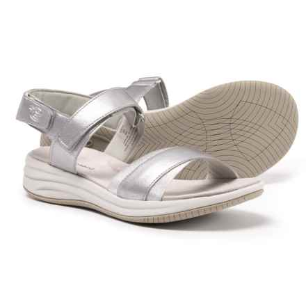 2ced4a4f5ce4a8 Easy Spirit Draco 3 Wedge Sandals (For Women) in Silver