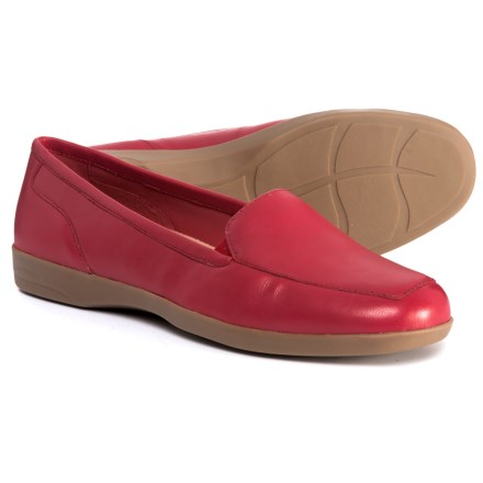 9585defa3ed2 Easy Spirit Dream Shoes - Leather (For Women) in Red - Closeouts