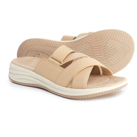 Easy Spirit Drones 2 Sandals (For Women) in Light Natural