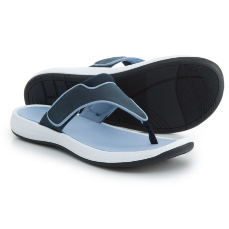 Easy Spirit Dylam3 Flip-Flops (For Women) in Dark Blue