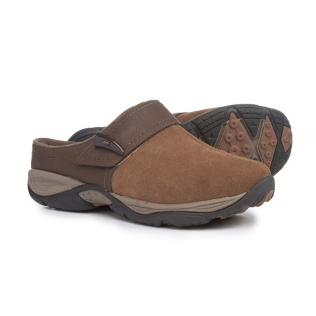 Easy Spirit Eliana Clogs - Suede, Slip-Ons (For Women)