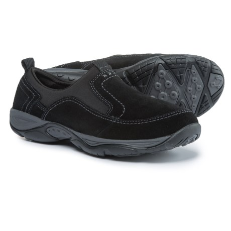 Easy Spirit Ementrie Shoes - Suede (For Women) in Black/Black