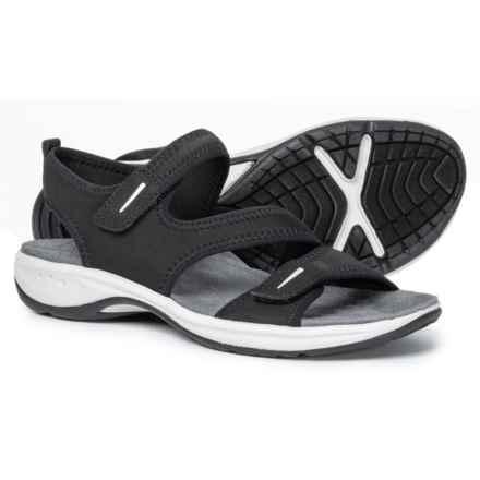 e44470ea3e9f66 Easy Spirit Everso Sport Sandals (For Women) in Black