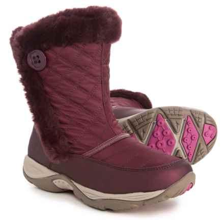 Easy Spirit Exposure 2 Winter Boots (For Women) in Dark Wine - Closeouts