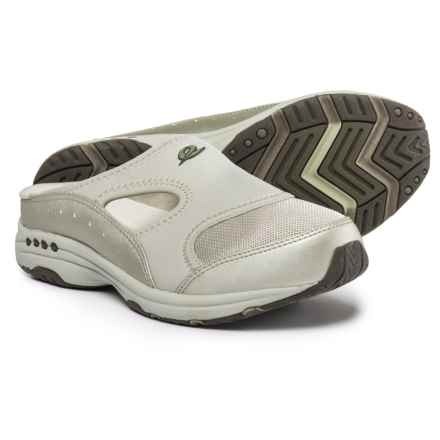 Easy Spirit Instep Shoes - Slip-Ons (For Women) in Champagne Gold/Birch/Partridge - Closeouts