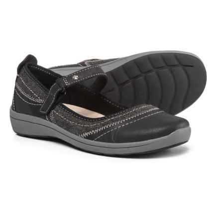 Easy Spirit Lownsdale Mary Jane Shoes - Leather (For Women) in Black/Black