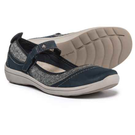 Easy Spirit Lownsdale Mary Jane Shoes - Leather (For Women) in Mood Indigo/Dark Blue - Closeouts