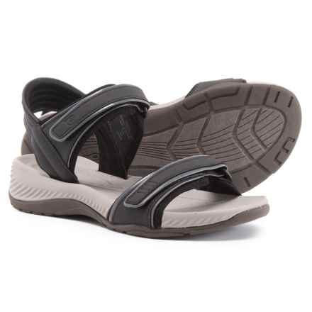 cf8d9d5cb0e595 Easy Spirit Nami 3 Sandals (For Women) in Black Castlerock