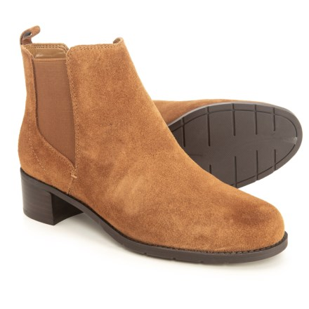9bac01f7f38 Easy Spirit Niles Booties - Suede (For Women) in Hazelnut Suede - Closeouts