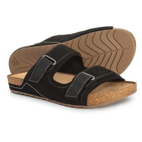 283fe3c81 Easy Spirit Peace Slide Sandals - Leather (For Women) in Black Nb