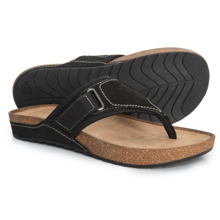 8a58953f3 Easy Spirit Peony Sandals - Leather (For Women) in Black - Closeouts