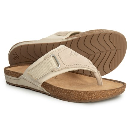 254de40688f Easy Spirit Peony Sandals - Leather (For Women) in Dark Taupe17 - Closeouts