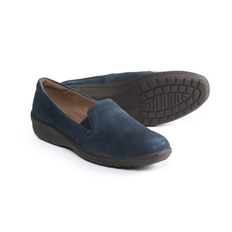 ef17a6ebdb9 Easy Spirit Santara Shoes - Suede (For Women) in Dress Blue Dress Blue