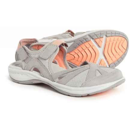Easy Spirit Splash Hiking Sandals (For Women) in Light Gray - Closeouts