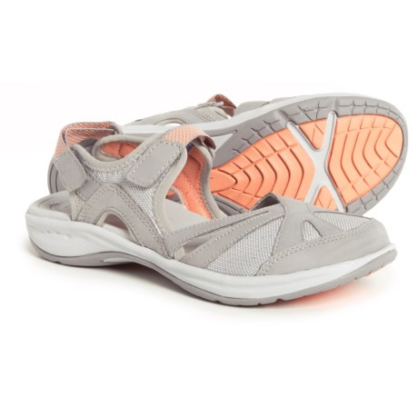 Easy Spirit Splash Hiking Sandals (For Women) in Light Gray