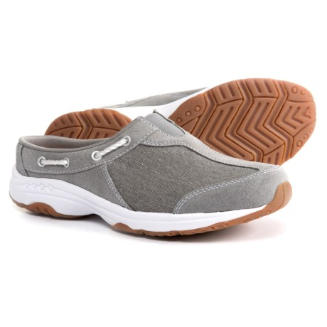Easy Spirit Travel Knot Casual Clogs (For Women) in Grey