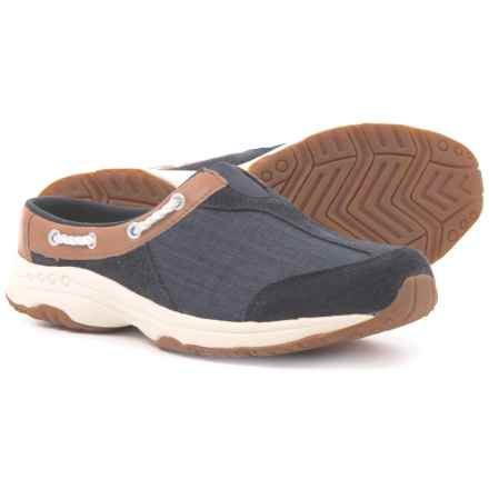Easy Spirit Travel Knot Casual Clogs (For Women) in Navy/Tan/Denim - Closeouts