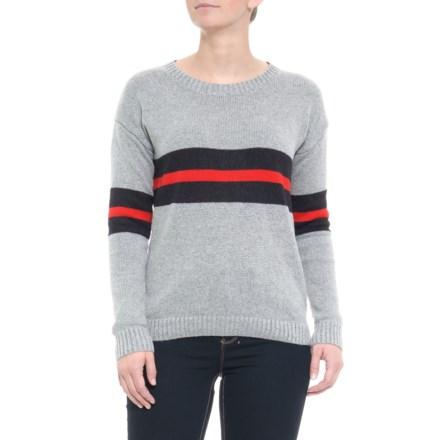 9ec93e859a95d7 Ebby   I Australian Designer Double Stripe Sweater (For Women) in Grey -  Closeouts