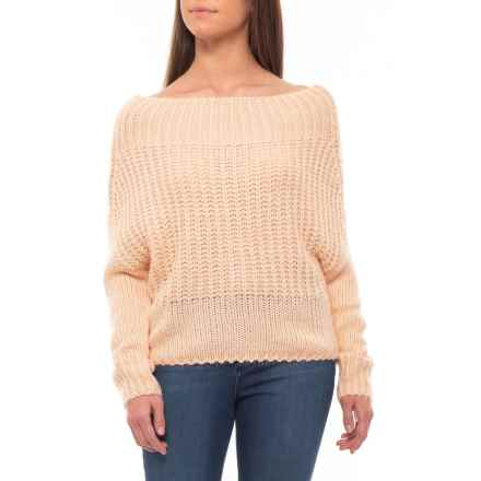 bd81c884cd17b0 Ebby   I Australian Designer Fluffy Off-the-Shoulder Sweater (For Women)