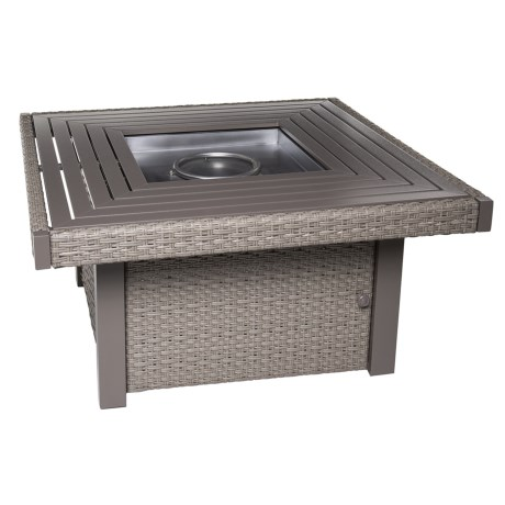 Ebel Inc Calais Square Fire Pit in Driftwood