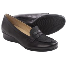 ECCO Abelone Loafers - Leather (For Women) in Black - Closeouts