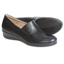 ECCO Abelone Shoes - Leather, Slip-Ons (For Women) in Black - Closeouts