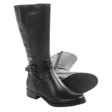 ECCO Adel Mid Boots - Leather (For Women) in Black - Closeouts