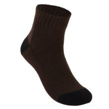 ECCO Arch Support Golf Socks - Ankle (For Men) in Brown - Closeouts