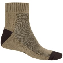 ECCO Arch Support Golf Socks - Ankle (For Men) in Taupe - Closeouts
