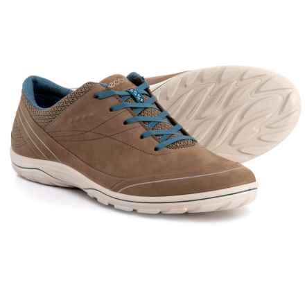 ECCO Arizona Sneakers - Leather (For Women) in Birch/Sea Port - Closeouts