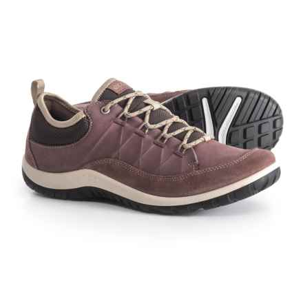 ECCO Aspina Hiking Shoes - Nubuck (For Women) in Dusty Purple/Dusty Purple - Closeouts