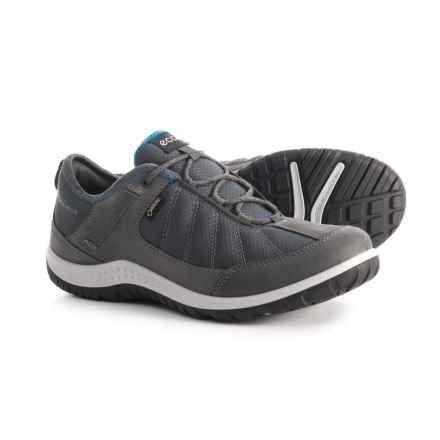 ECCO Aspina Textile Gore-Tex® Hiking Shoes - Waterproof (For Women) in Dark Shadow - Closeouts