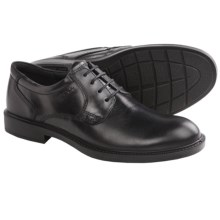 ECCO Atlanta Plain Toe Oxford Shoes (For Men) in Black - Closeouts