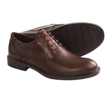 ECCO Atlanta Plain Toe Oxford Shoes (For Men) in Mink - Closeouts