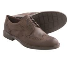 ECCO Atlanta Wingtip Oxford Shoes (For Men) in Coffee - Closeouts