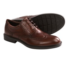 ECCO Atlanta Wingtip Oxford Shoes (For Men) in Cognac - Closeouts