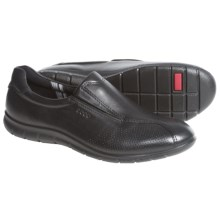 ECCO Babett Leather Shoes - Leather (For Women) in Black - Closeouts