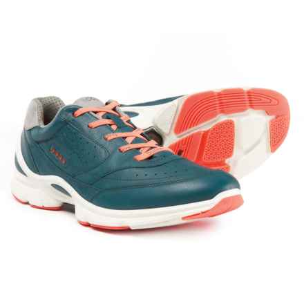 ECCO BIOM Evo Trainer Cross Training Shoes (For Women) in Sea Port/Coral - Closeouts