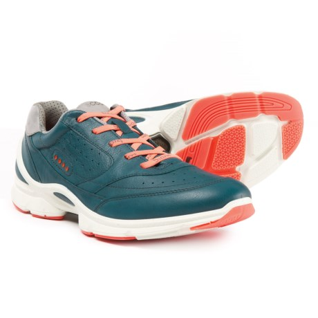 ECCO BIOM Evo Trainer Cross Training Shoes (For Women) in Sea Port/Coral