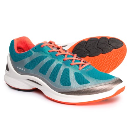 ECCO BIOM Fjuel Cross Training Shoes (For Women) in Capri Breeze/Coral