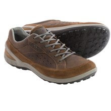 ECCO Biom Grip II Lace Shoes (For Men) in Camel/Camel - Closeouts