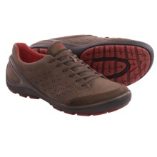 ECCO Biom Grip Lace Shoes (For Men) in Dark Clay/Coffee - Closeouts