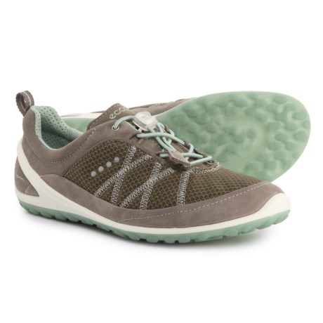 5008a86941e438 ECCO BIOM Lite Toggle Sneakers (For Women) in Warm Grey Ice Flower