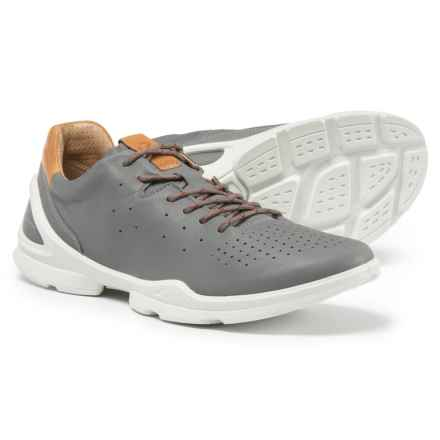 ECCO BIOM Street Sneakers - Leather (For Men) in Dove - Closeouts