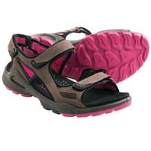 ECCO Biom Terrain Sport Sandals (For Women) in Espresso/Beetroot - Closeouts