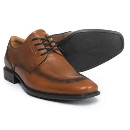 ECCO Cairo Perforation Oxford Shoes - Leather (For Men) in Amber - Closeouts