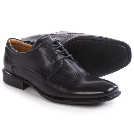 ECCO Cairo Perforation Oxford Shoes Leather For Men