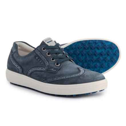 ECCO Casual Hybrid Golf Shoes - Leather (For Women) in True Navy - Closeouts
