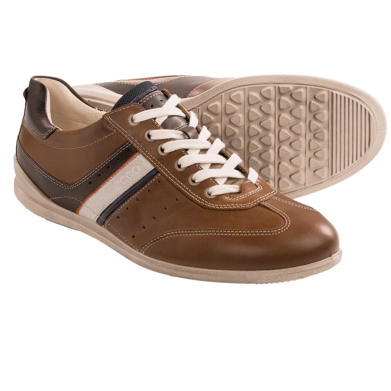 ECCO Chandler Dress Sneakers (For Men) in Walnut